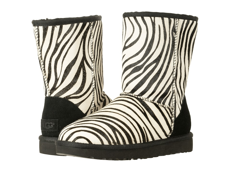 UGG Classic Short Exotic (Zebra 1) Women