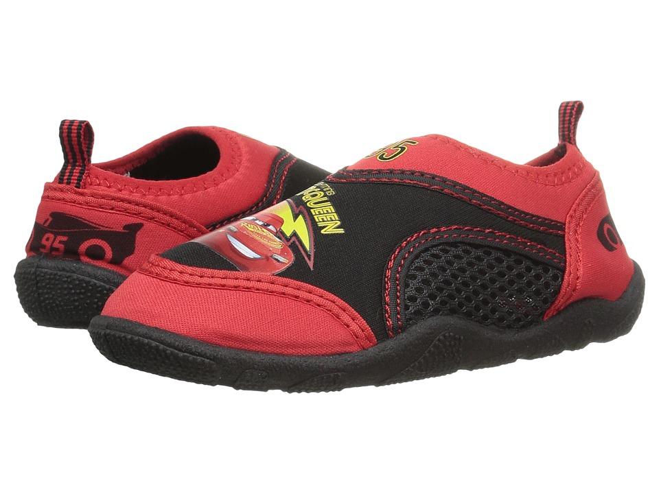 Josmo Kids - Cars Aqua Sock (Toddler/Little Kid) (Red/Black) Boys Shoes