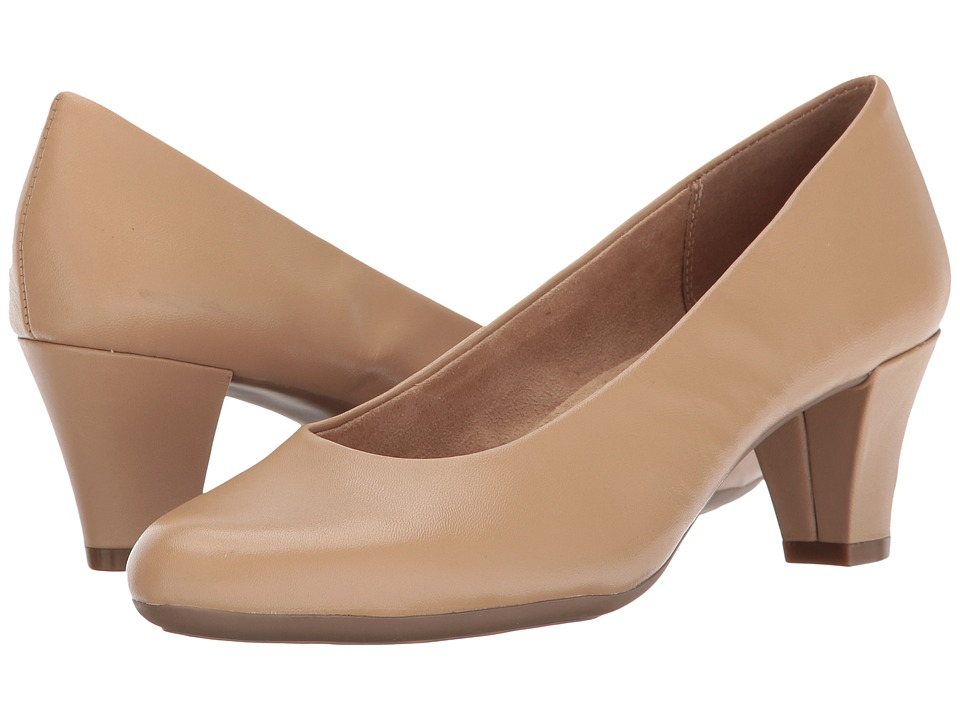 A2 by Aerosoles - Shore Thing (Light Tan Leather) Women's Shoes
