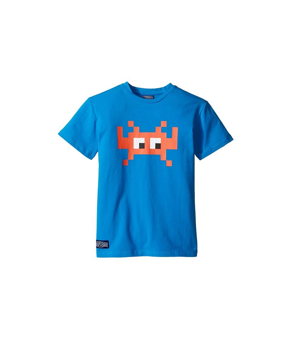 Toobydoo - Graphic T-Shirt (Infant/Toddler/Little Kids/Big Kids) (Blue/Navy) Boy's T Shirt