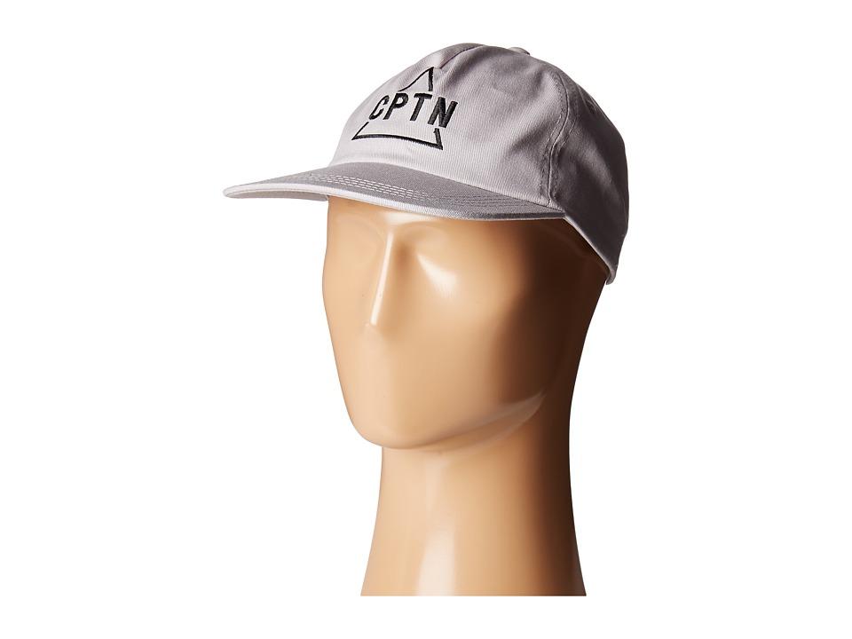Captain Fin - Pyramid Hat (Charcoal) Caps