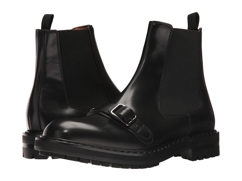 Alexander McQueen Harness Boot (Black) Men