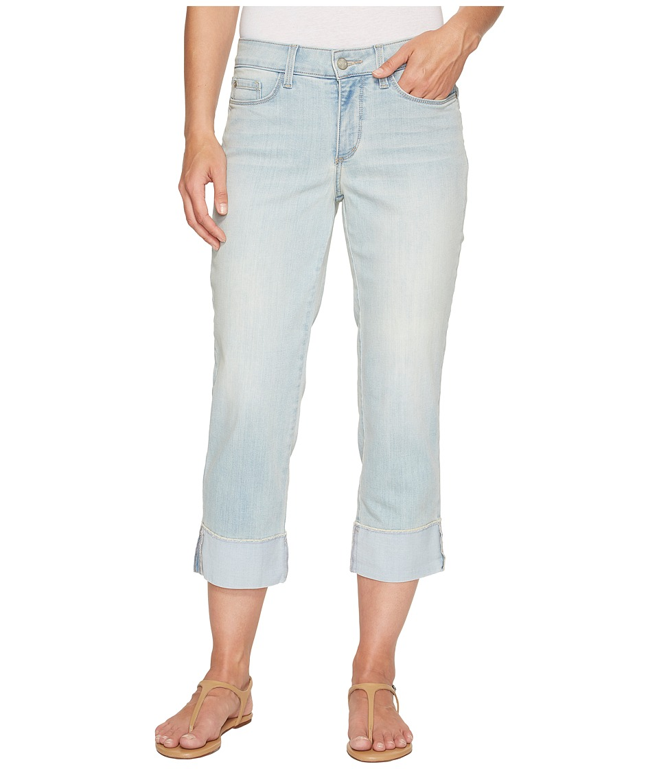 NYDJ - Dayla Wide Cuff Capris w/ Fray in Cote Sauvage (Cote Sauvage) Women's Jeans