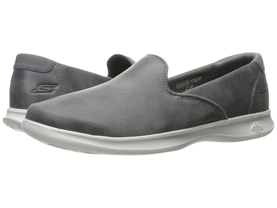 SKECHERS Performance Go Step Lite Determined (Charcoal) Women