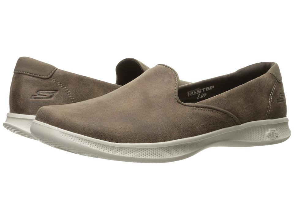 SKECHERS Performance Go Step Lite Determined (Taupe) Women