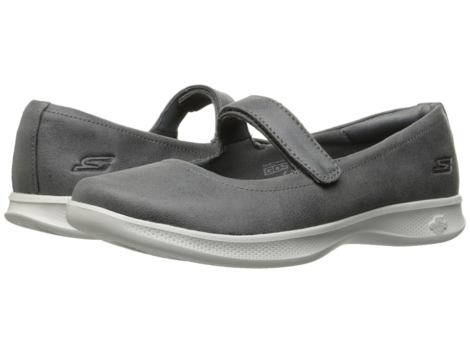 SKECHERS Performance Go Step Lite 14730 (Charcoal) Women