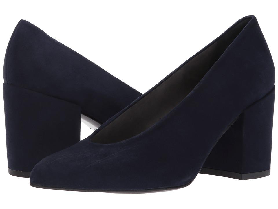 Stuart Weitzman Chokeup (Nice Blue Suede) High Heels