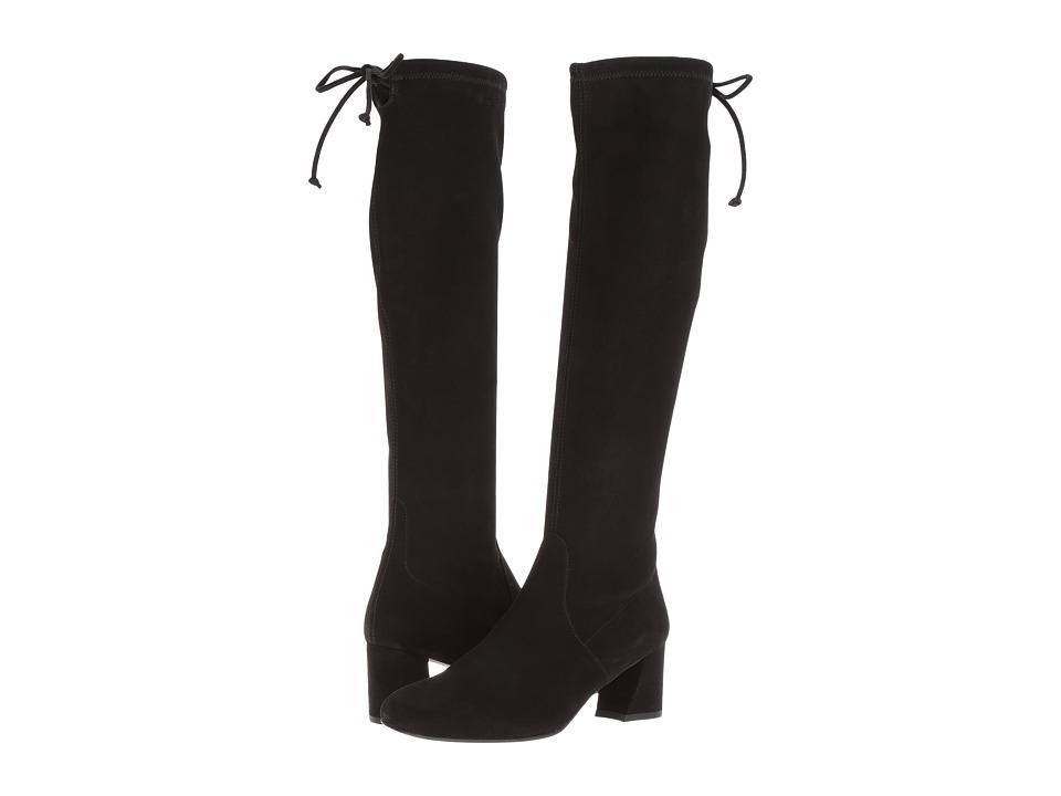 Stuart Weitzman - Terra (Black Suede) Women's Boots