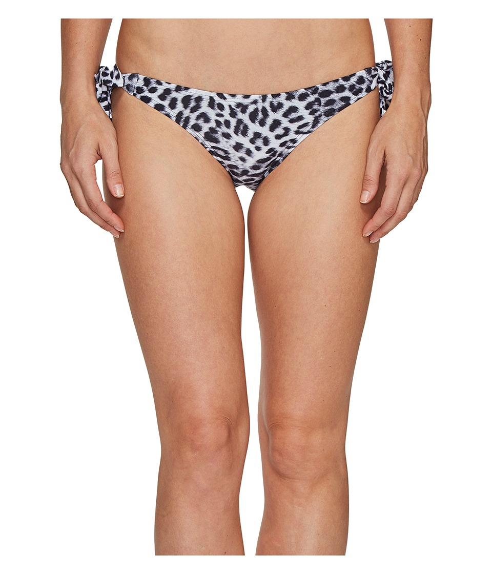 Vince Camuto - Animal Side Tie Bikini Bottom (Black) Women's Swimwear