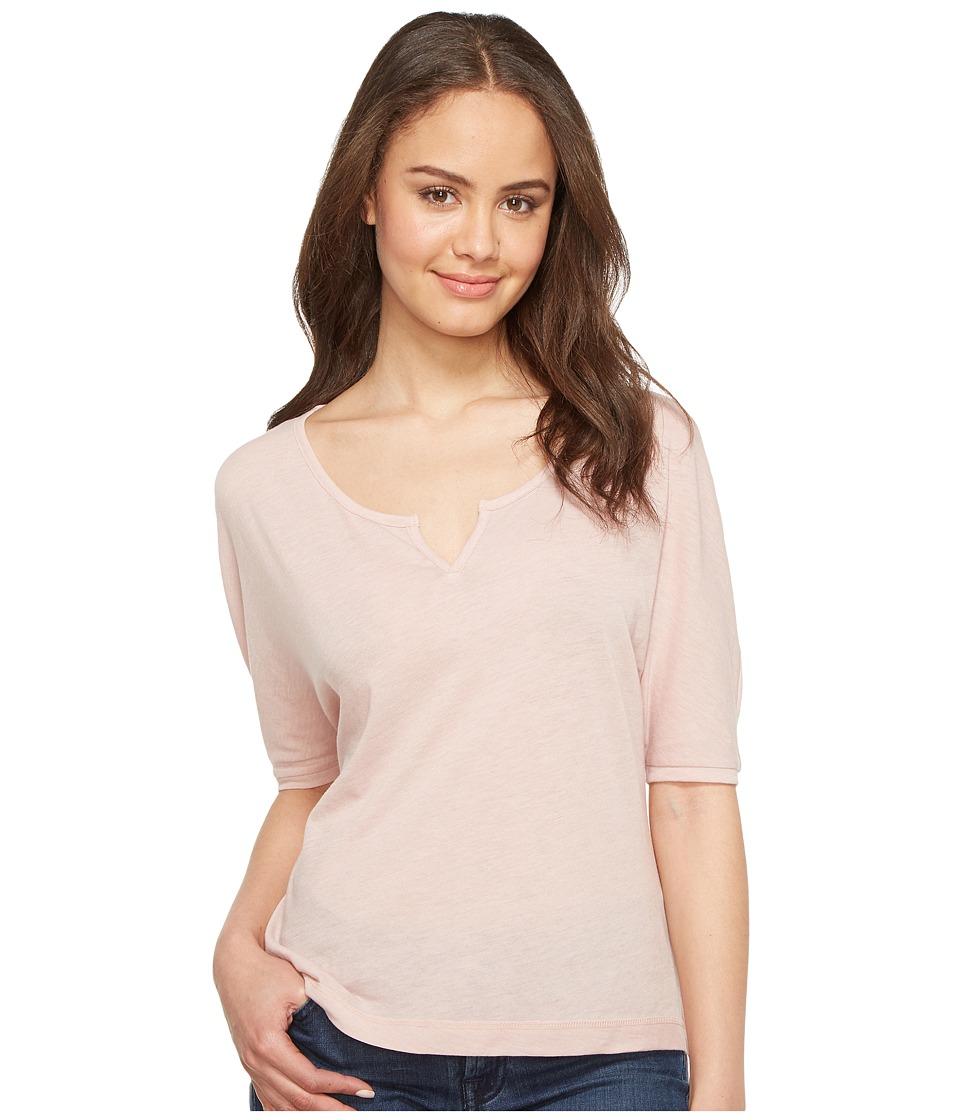 Alternative - Eco Gauze Roam Short Sleeve Tee (Rose Quartz) Women's T Shirt