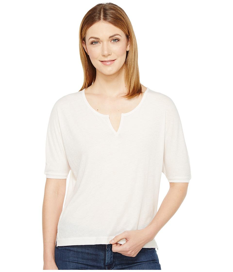Alternative - Eco Gauze Roam Short Sleeve Tee (White Mist) Women's T Shirt