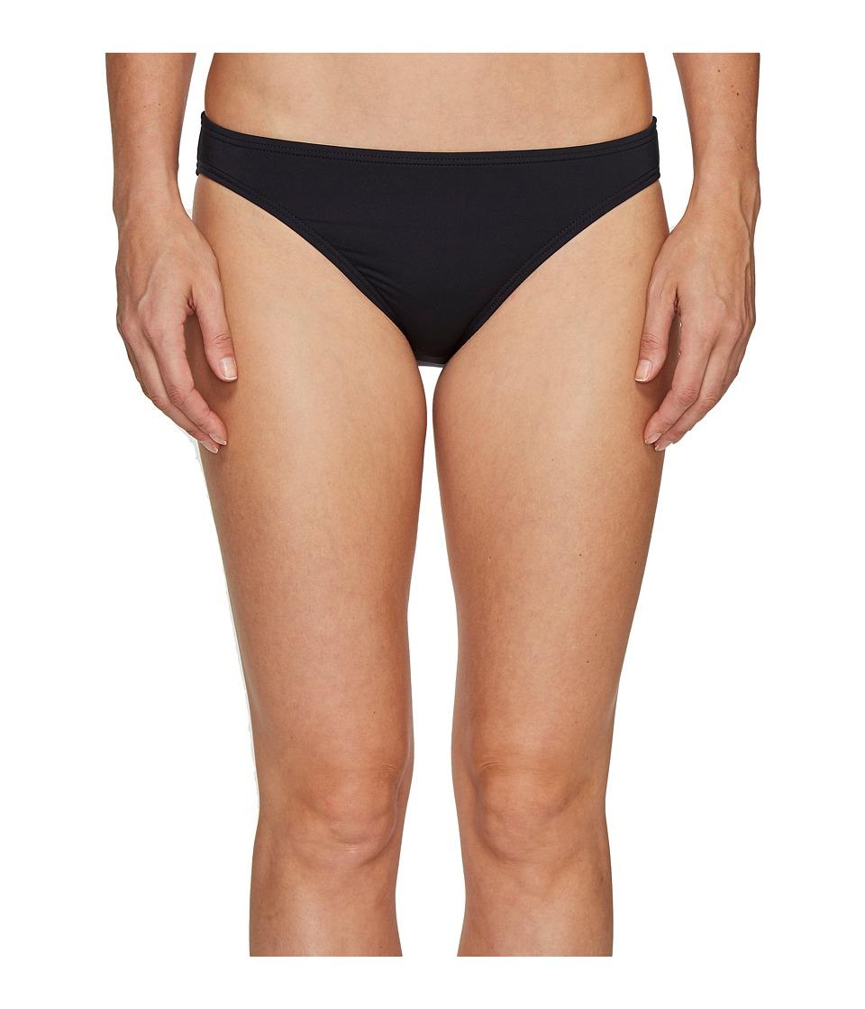 Vince Camuto - Color Blocked Classic Bikini Bottom (Black) Women's Swimwear