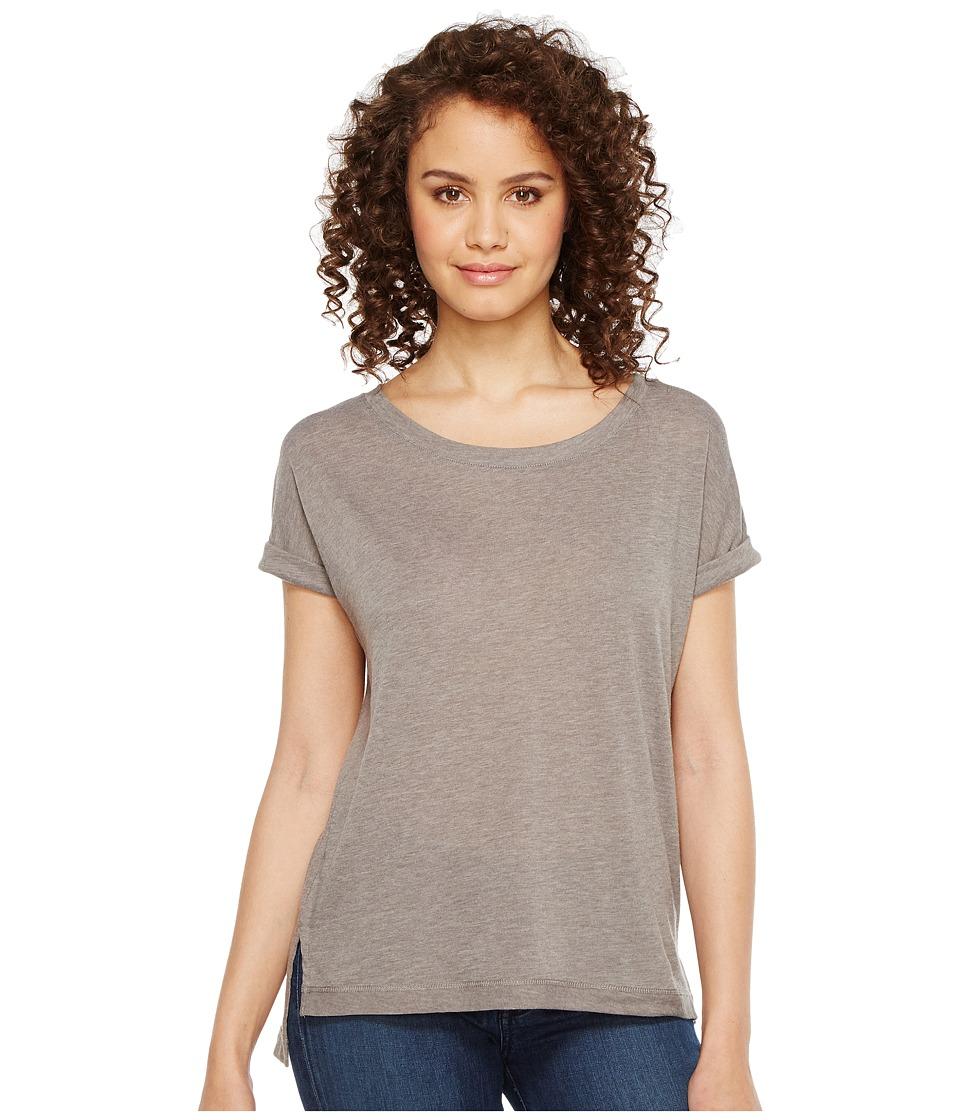 Alternative - Eco Gauze Drift Short Sleeve T-Shirt (Grey Storm) Women's T Shirt