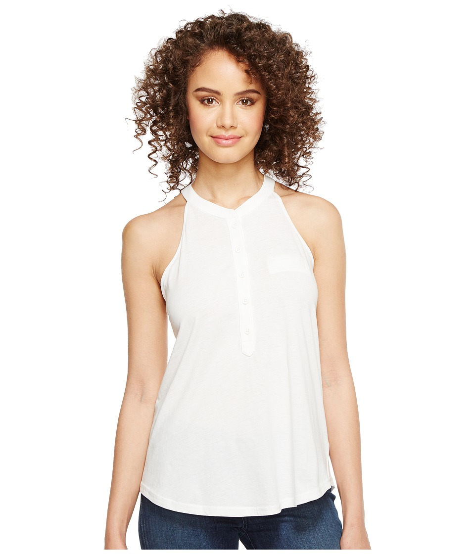 Alternative - Cut Away Popover (White) Women's Clothing