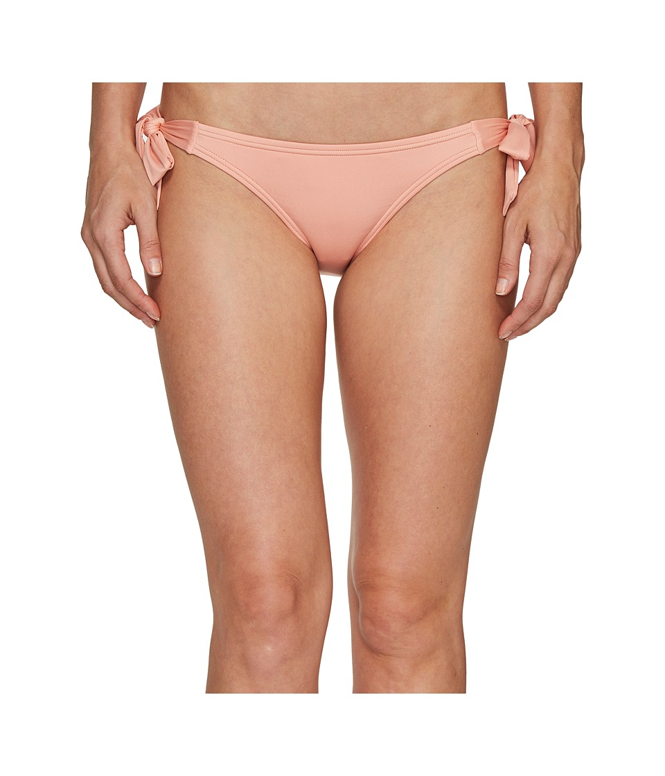 Vince Camuto - Draped Solids Side Tie Bikini Bottom (Blush) Women's Swimwear