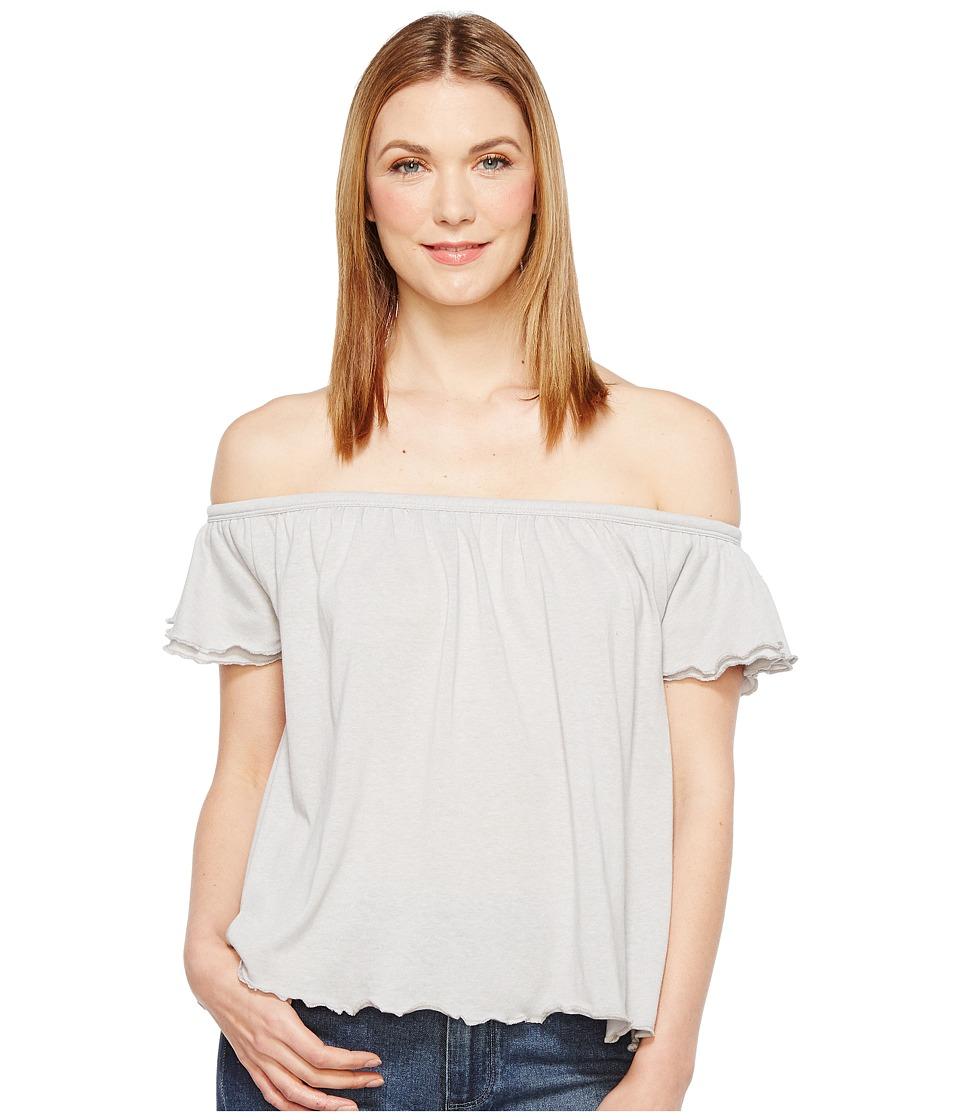 Alternative - Vintage 50/50 Jersey Summer Daze Tee (Silver) Women's T Shirt