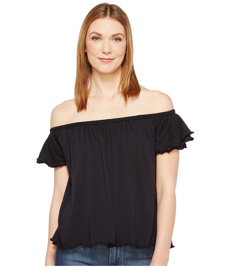 Alternative - Vintage 50/50 Jersey Summer Daze Tee (Black) Women's T Shirt