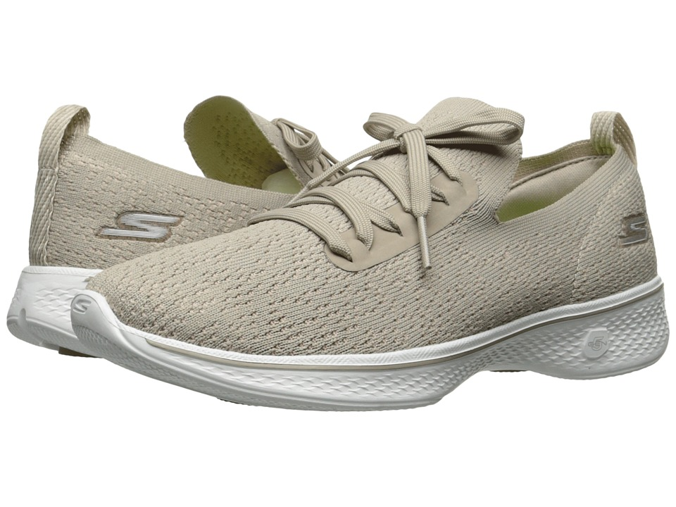 SKECHERS Performance Go Walk 4 14917 (Taupe) Women
