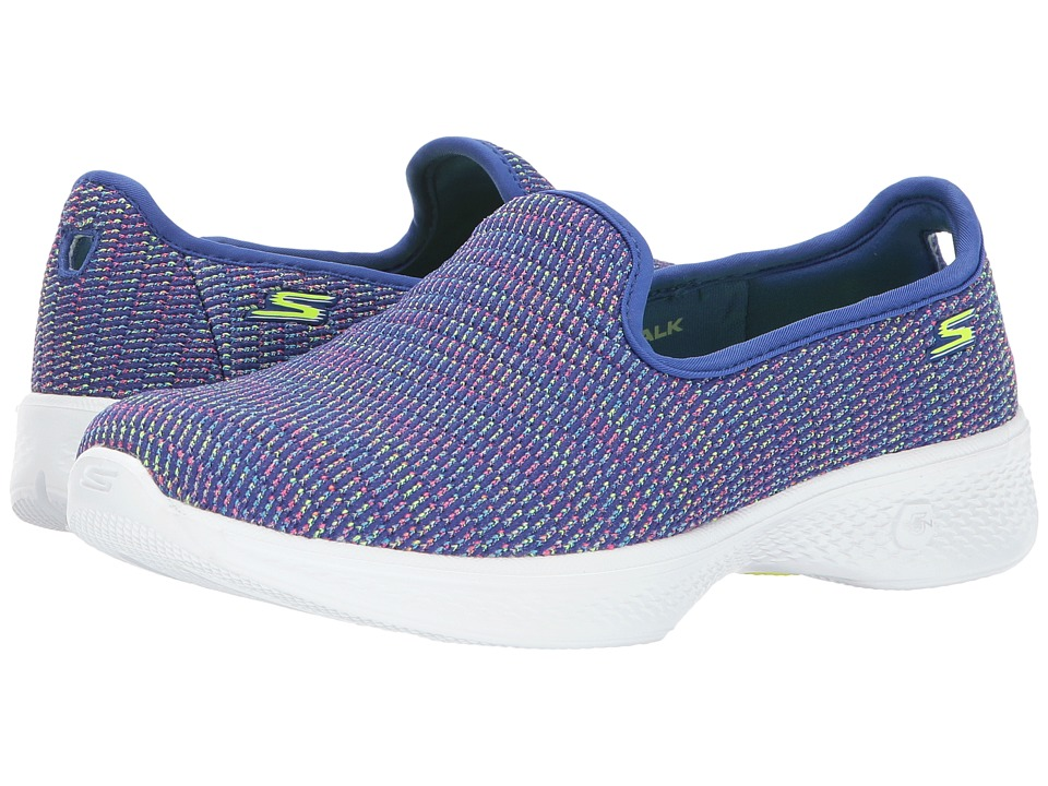 SKECHERS Performance Go Walk 4 14922 (Purple/Multi) Women
