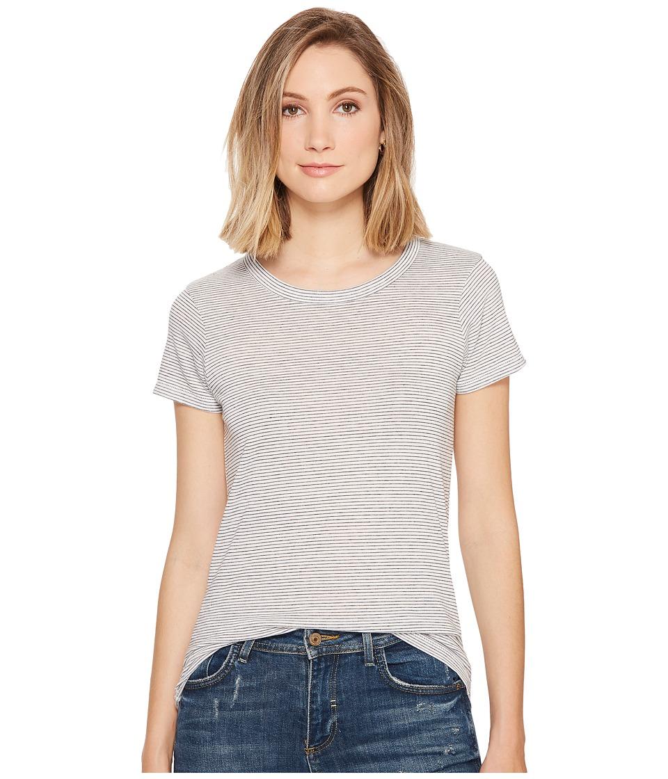 Alternative - Ideal Tee (Eco Ivory Seaside Stripe) Women's T Shirt