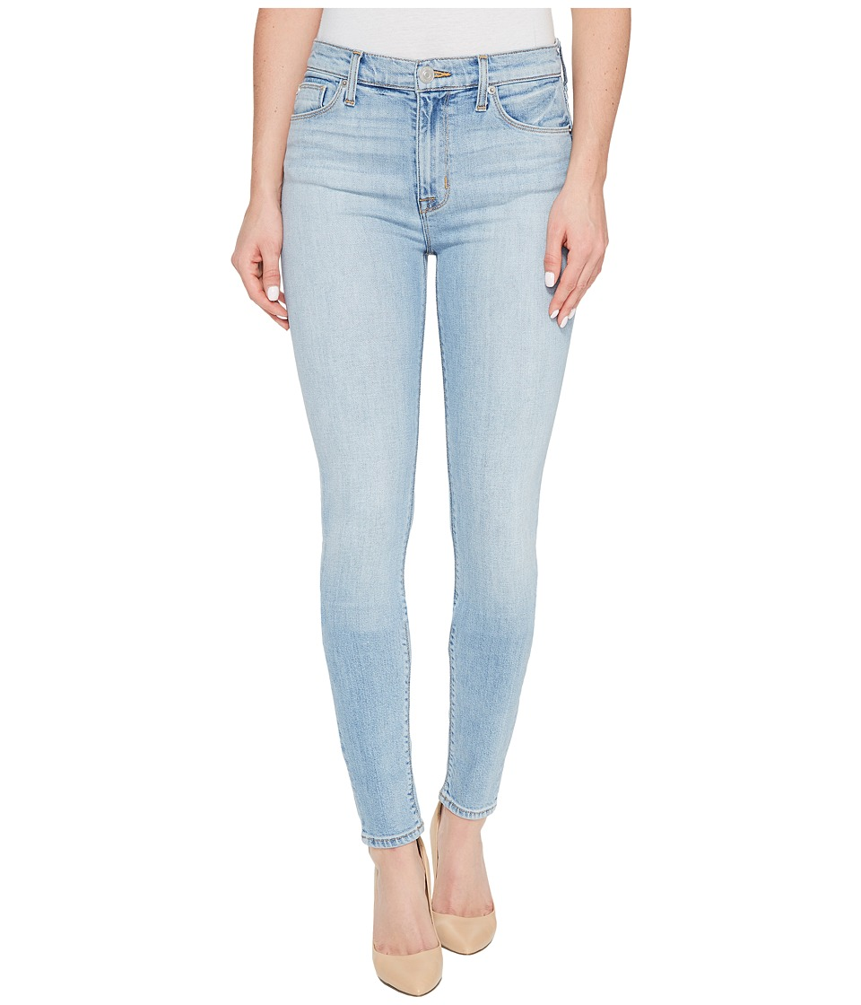 Hudson - Barbara High Waist Super Skinny Five-Pocket Jeans in Seventeen (Seventeen) Women's Jeans