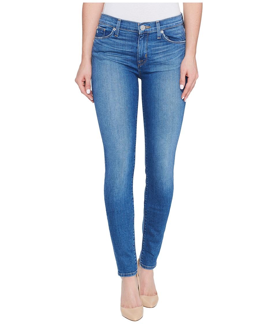 Hudson - Nico Mid-Rise Super Skinny Five-Pocket Jeans in Rumors (Rumors) Women's Jeans