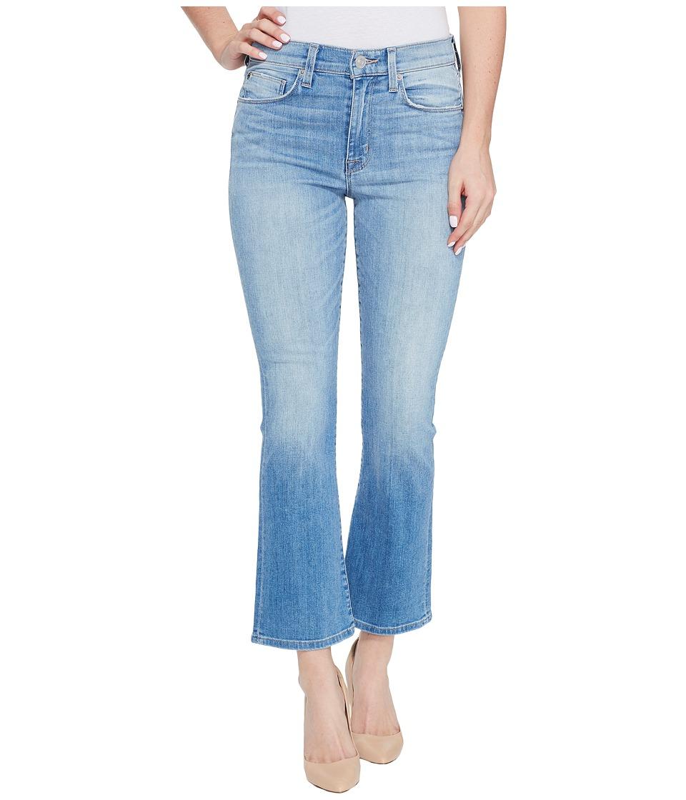 Hudson - Brixx High-Rise Crop Flare Five-Pocket Jeans in Stunner (Stunner) Women's Jeans
