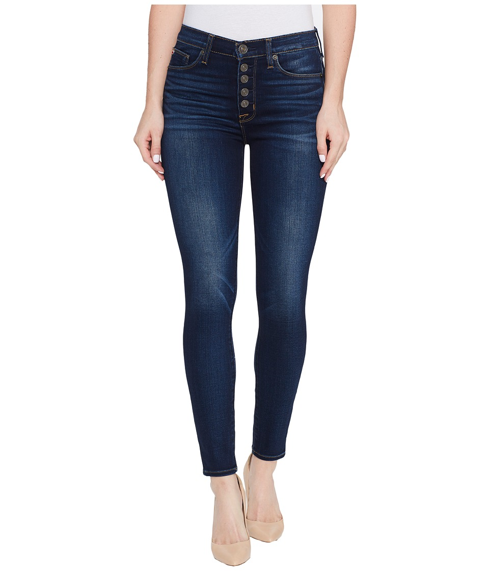 Hudson - Ciara High-Rise Ankle Super Skinny Buttonfly Five-Pocket Jeans in Charmed (Charmed) Women's Jeans