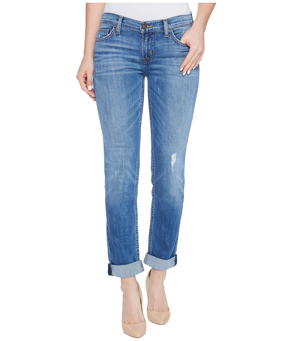 Hudson - Tally Cropped Skinny Five-Pocket Jeans in Intruder (Intruder) Women's Jeans