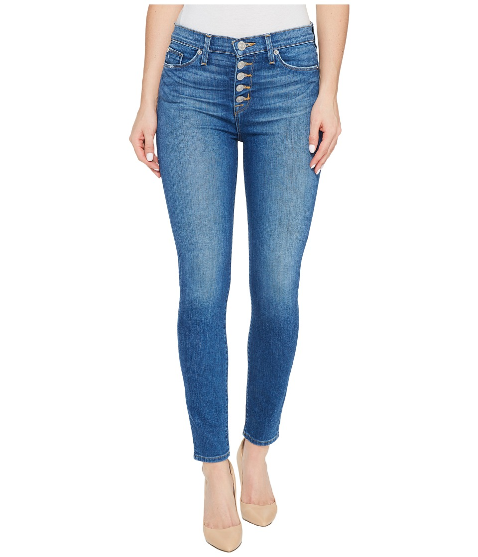 Hudson - Ciara High-Rise Ankle Super Skinny Buttonfly Five-Pocket Jeans in Rumors (Rumors) Women's Jeans