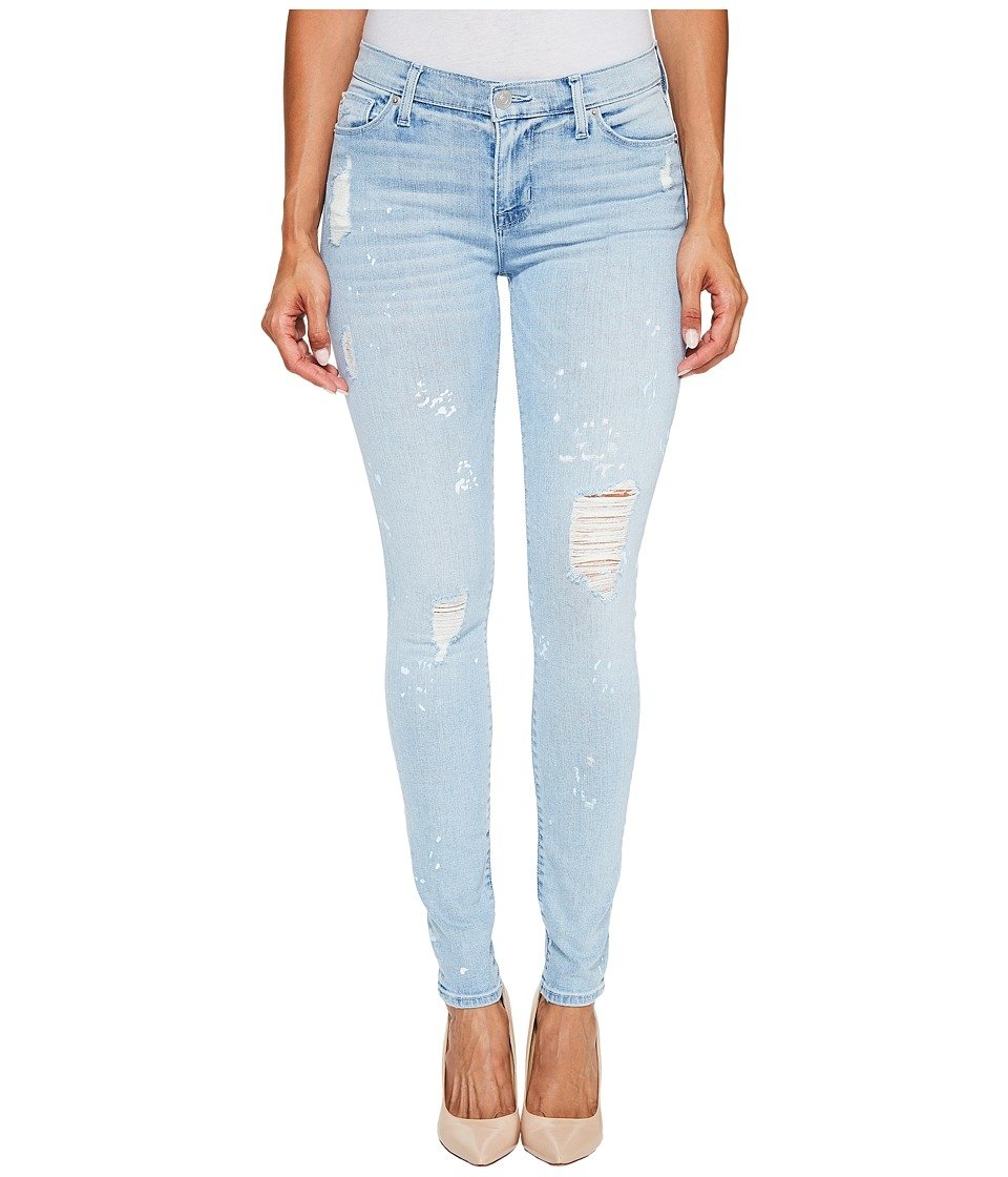 Hudson Nico Mid-Rise Super Skinny Five-Pocket Jeans in Reflector (Reflector) Women