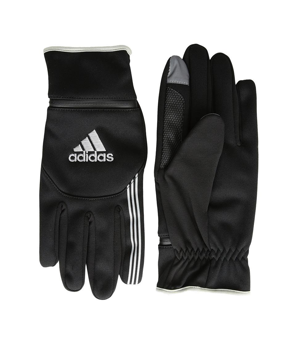 adidas Voyager (Black/Silver) Liner Gloves