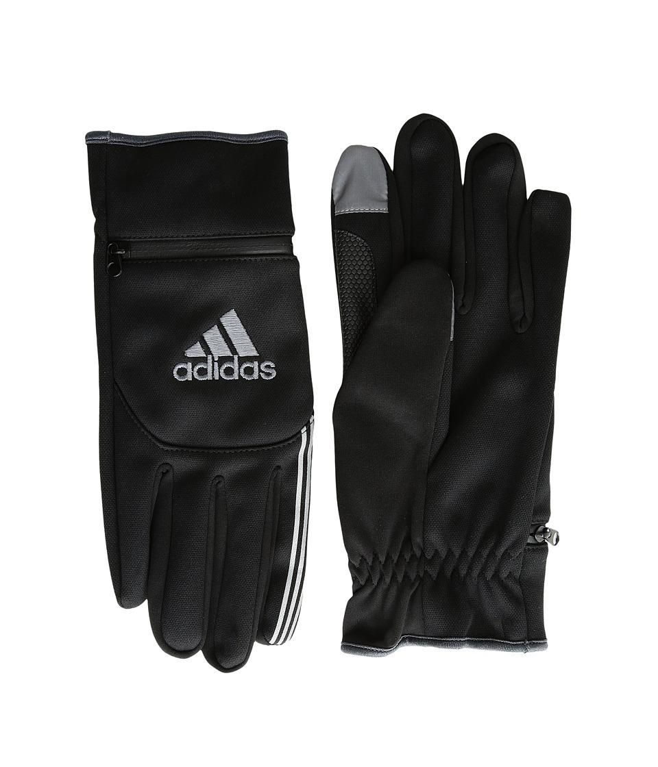 adidas Voyager (Black/Graphite) Liner Gloves