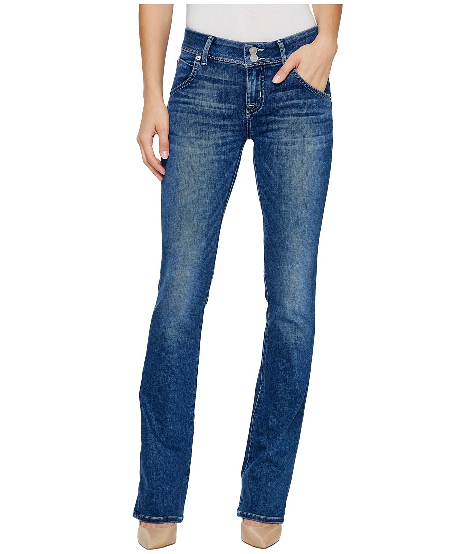 Hudson - Beth Mid-Rise Baby Boot Flap Jeans in Roll with It (Roll with It) Women's Jeans