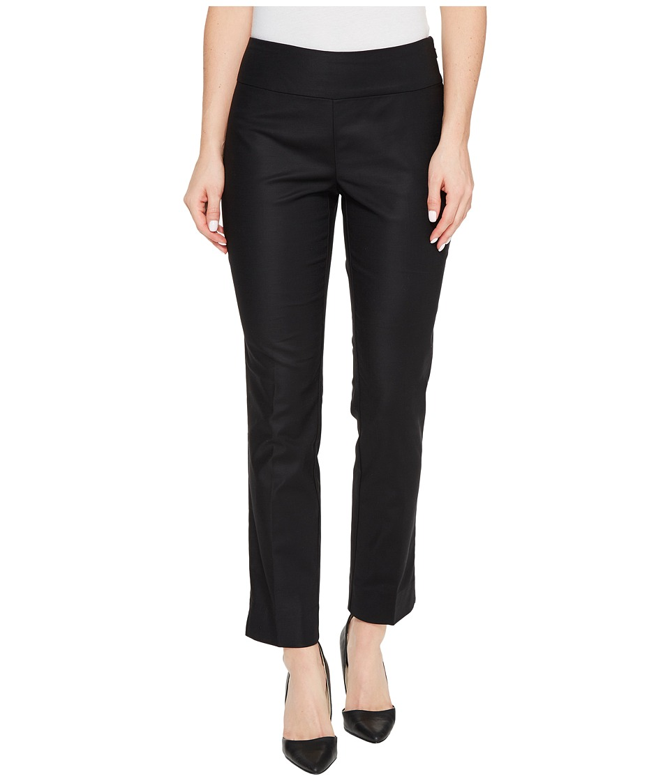 NIC+ZOE - The Perfect Pants Modern Slim Ankle (Black Onyx) Women's Casual Pants