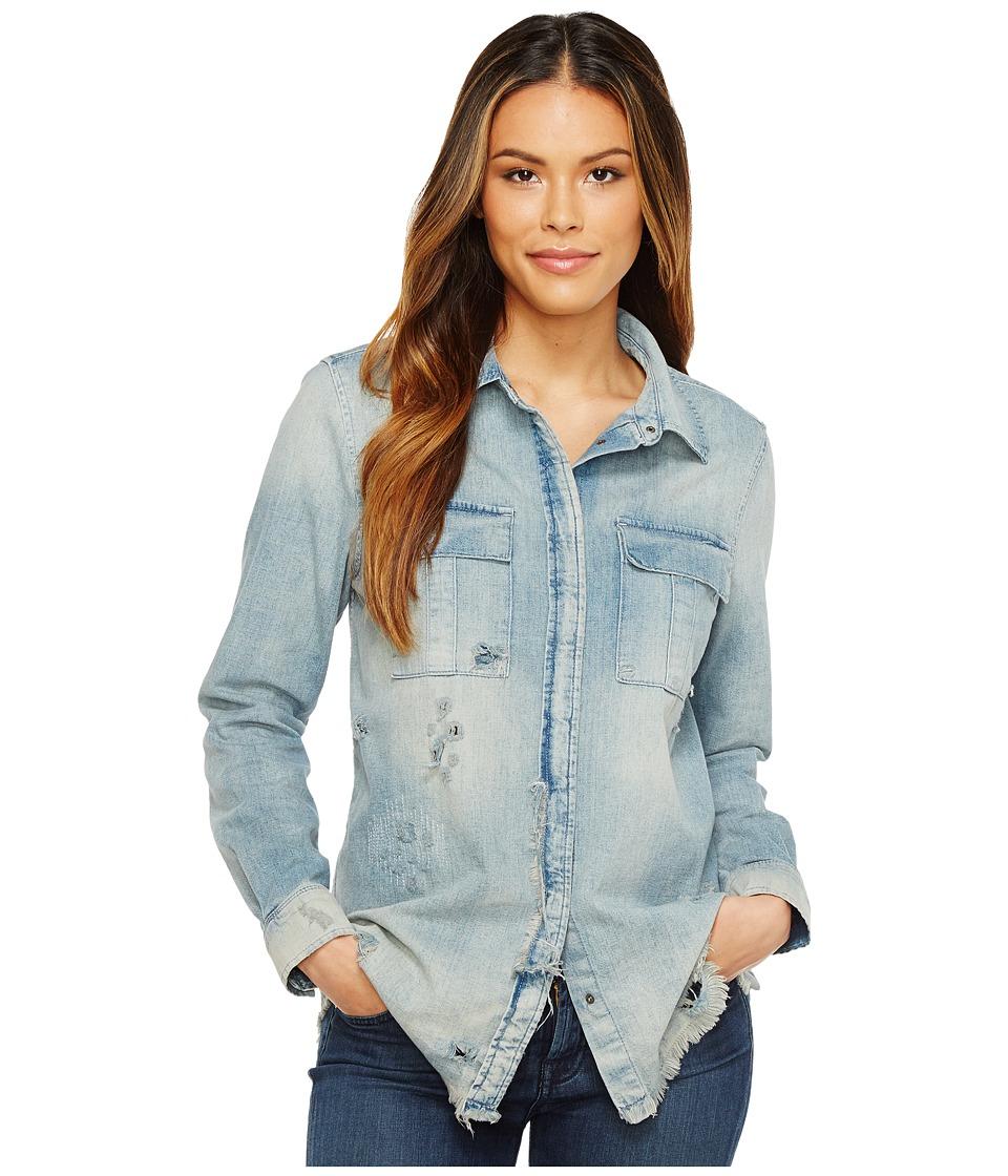 Hudson - Bijou Button Up Shirt in Slash (Slash) Women's T Shirt