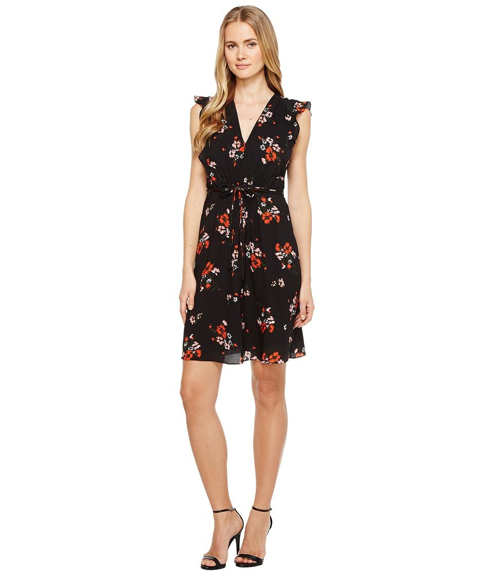 Rebecca Taylor - Sleeveless Marguerite Dress (Black) Women's Dress