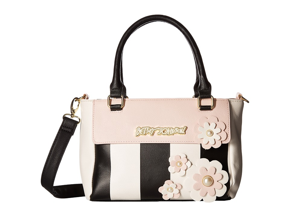 Betsey Johnson - Blooming Pearls Shop (Stripe) Handbags