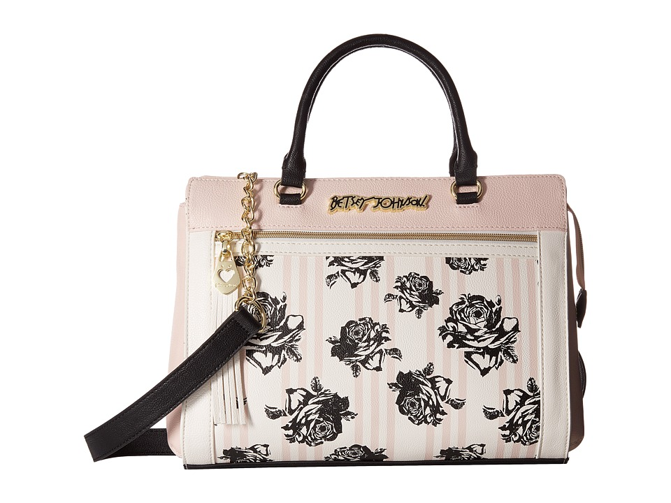 Betsey Johnson - Fringe Puller Lady (Floral) Handbags
