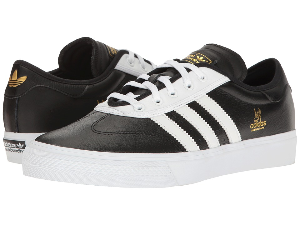 adidas - Adi-Ease Universal ADV (Black/White/Gold Metallic) Men's Shoes