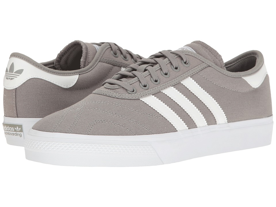 adidas - Adi-Ease Premiere (Charcoal Solid Grey/White/White) Men's Shoes