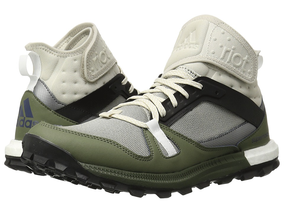 adidas - Supernova Riot (Clear Brown/Black/Base Green) Men's Shoes