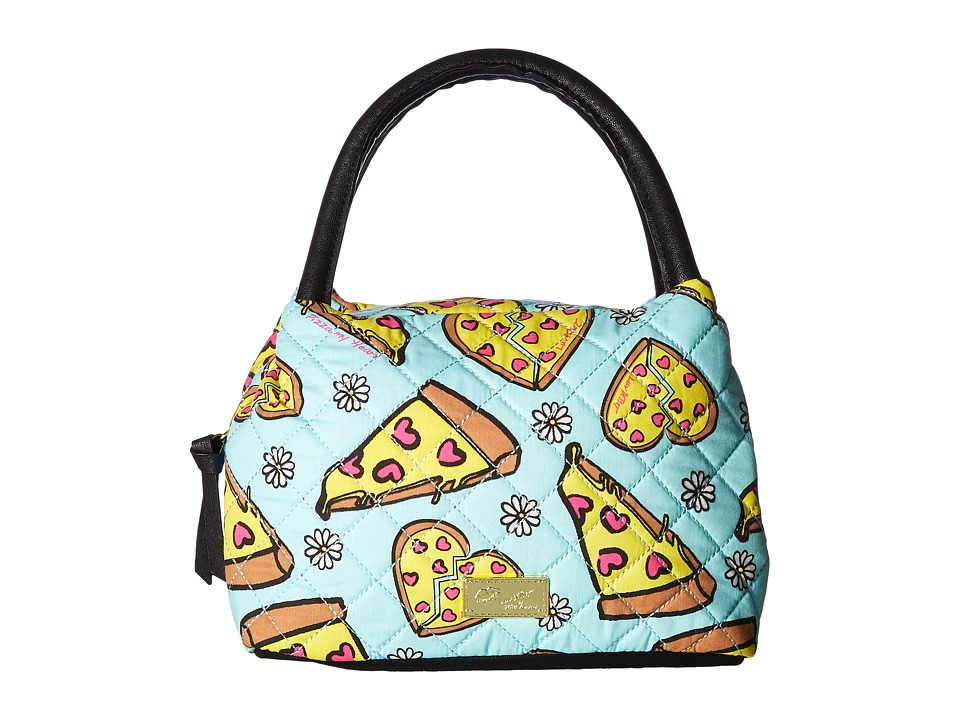 Luv Betsey - Lunchn Mini Satchel (Aqua) Satchel Handbags