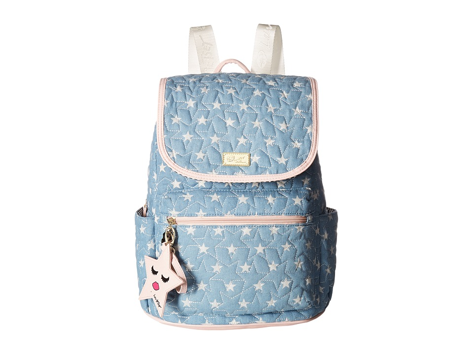 Luv Betsey - Grad Star Print Backpack (Moon Dust) Backpack Bags