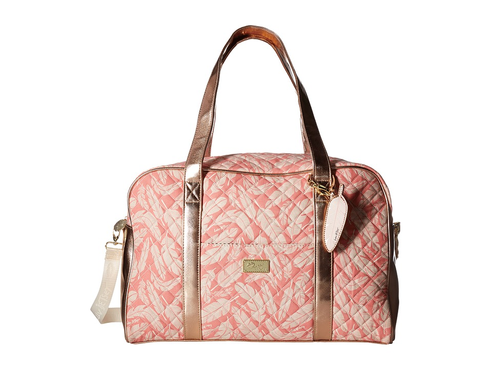 Luv Betsey - Cruisn Weekender With A Pass Through On the Back (Rose Gold) Weekender/Overnight Luggage