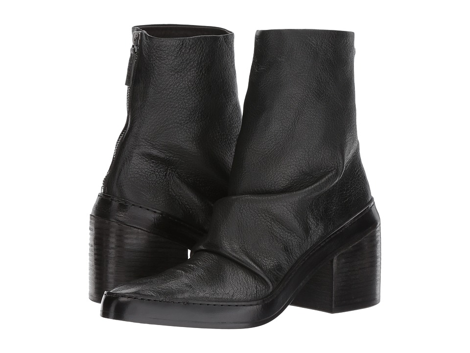Marsell Scrunched Boot (Black) Women