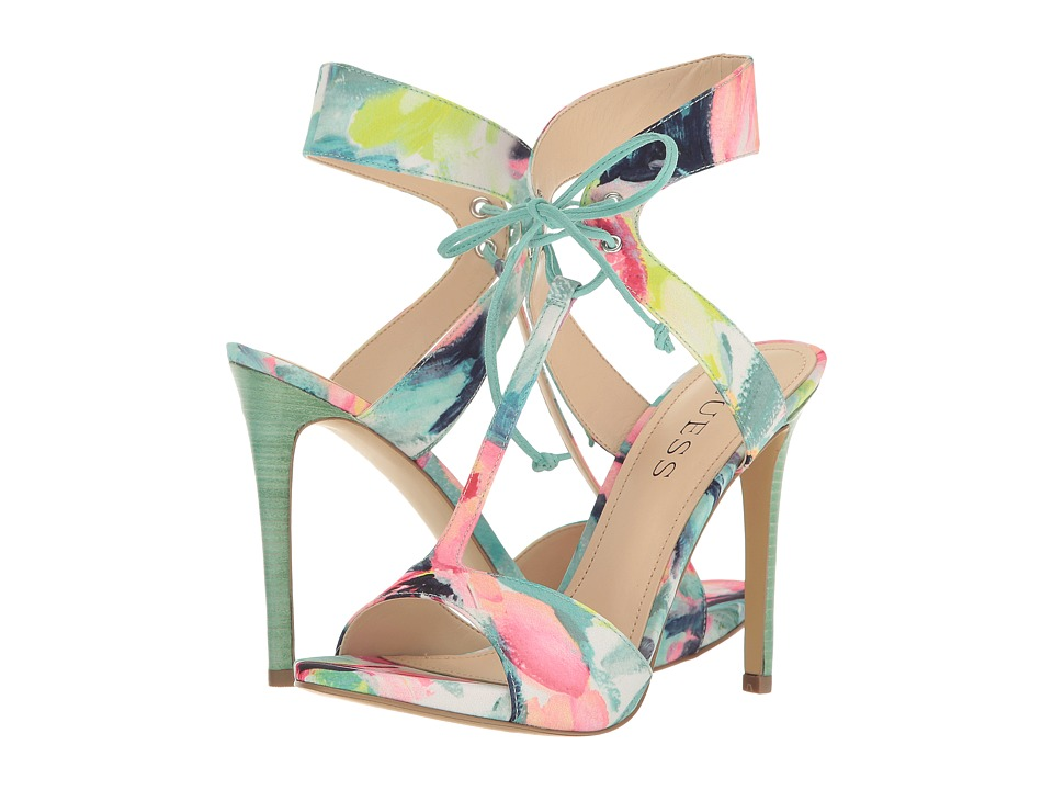 GUESS - Alexes (Yellow Multi) High Heels