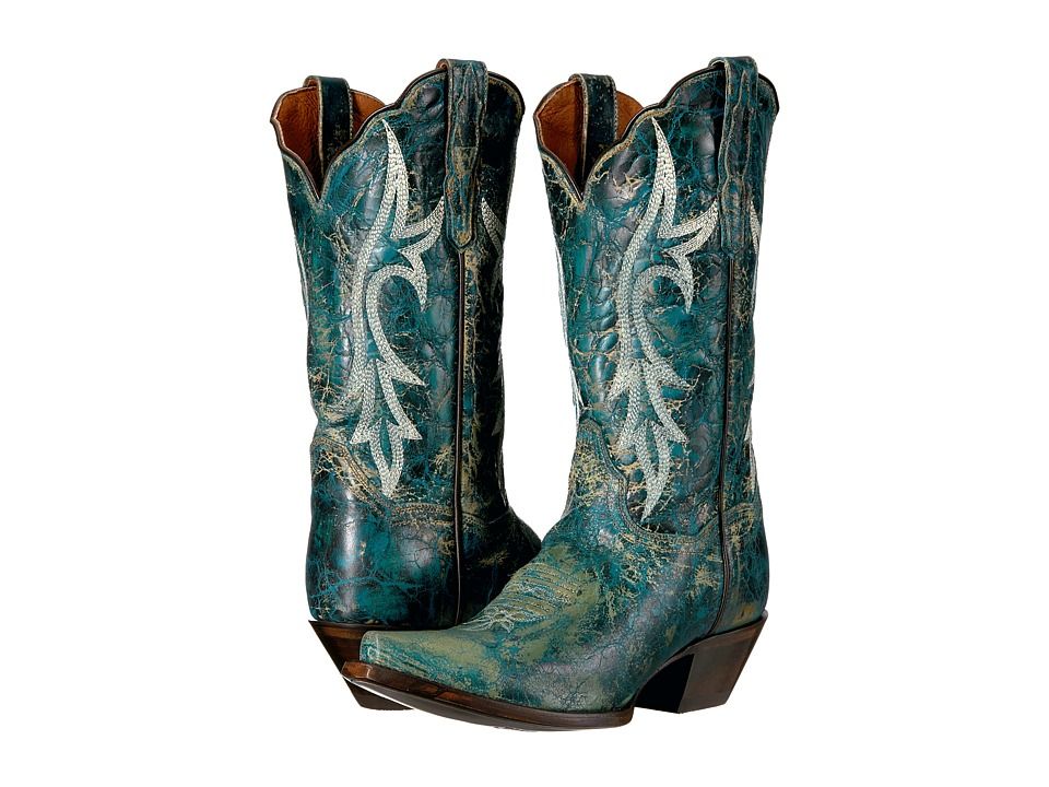 Dan Post Knockout (Turquoise) Cowboy Boots
