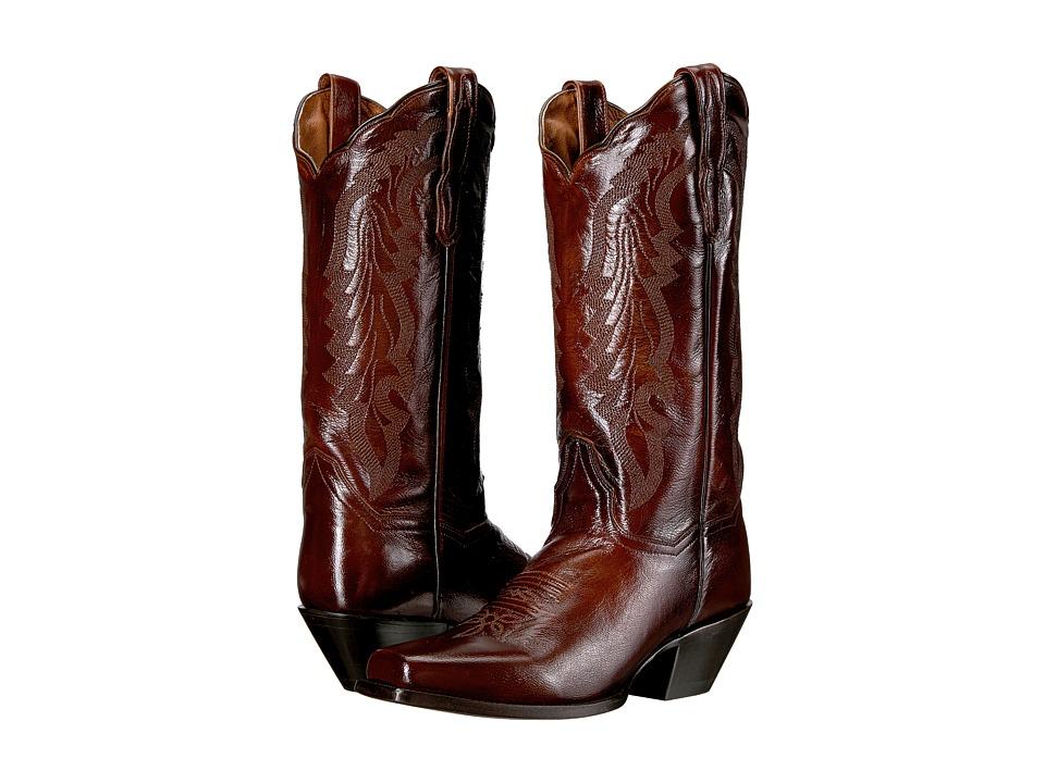 Dan Post Avalon (Antique Tan) Cowboy Boots