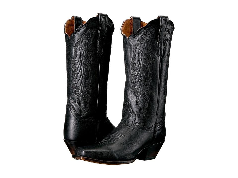 Dan Post Avalon (Black) Cowboy Boots